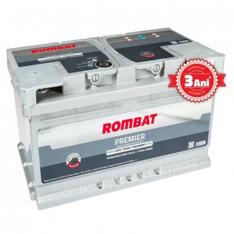 Baterie auto ROMBAT PREMIER 12V 60AH 580A