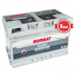 Baterie auto ROMBAT PREMIER 12V 65AH 640A